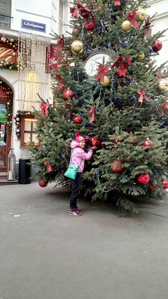 Me & Christmas tree